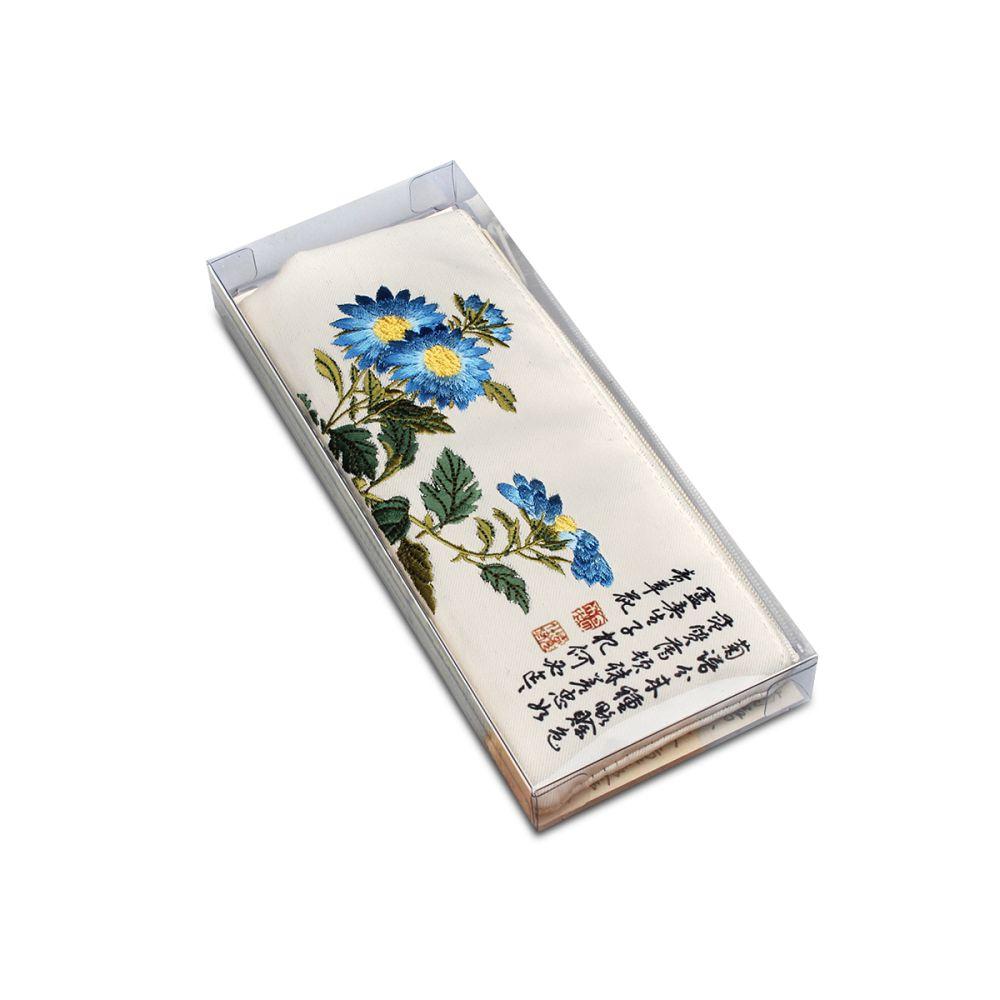 故宮精品|故宮藍菊書香筆袋