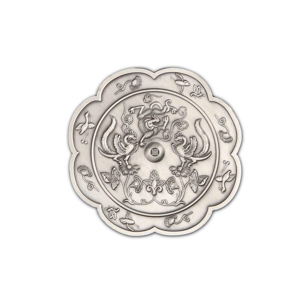 故宮精品|龍鳳紋隨身鏡