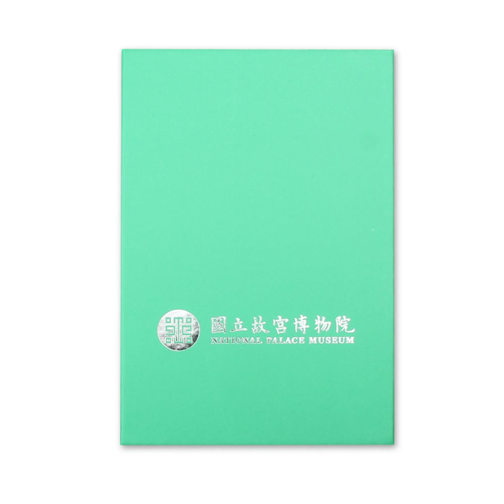 故宮精品|NPM正方純銀墜鍊(玫瑰)
