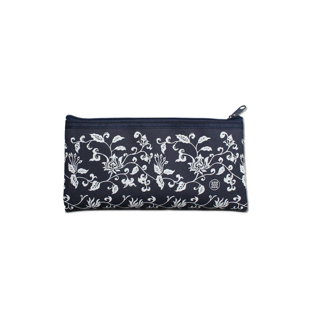 故宮精品|藝術筆袋平口青花藍