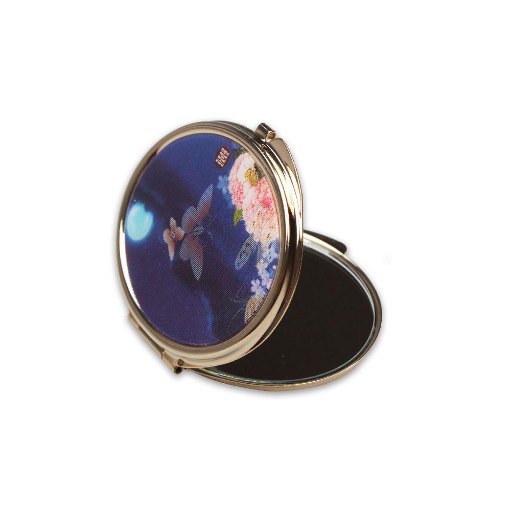 故宮精品|3D橢圓雙面鏡 月夜