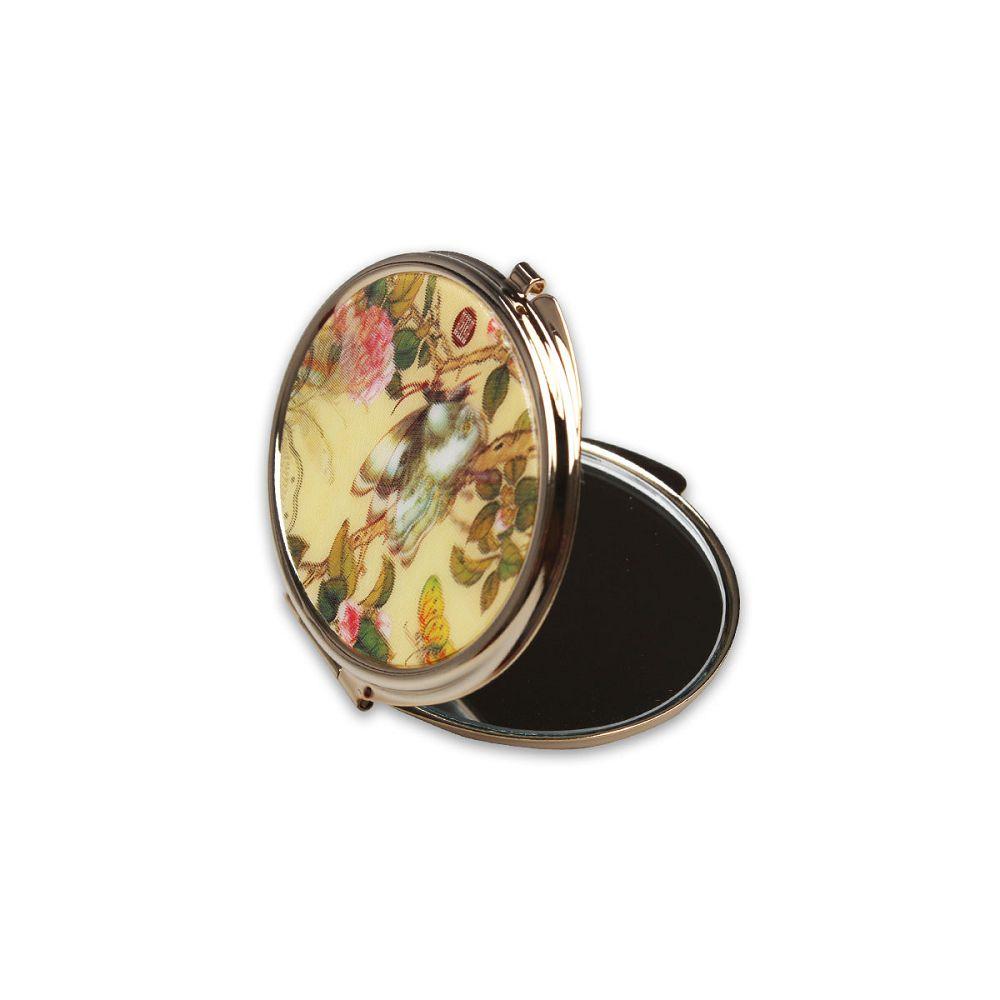 故宮精品|3D橢圓雙面鏡 花蝶