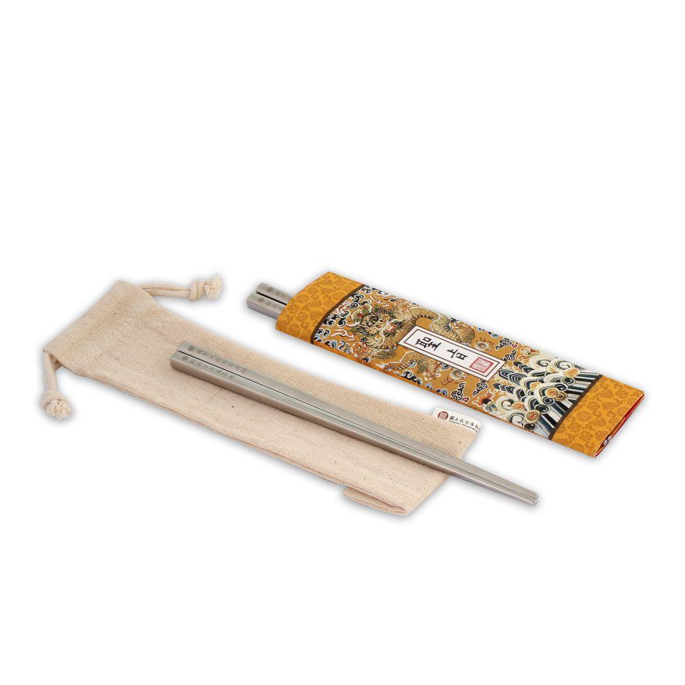 故宮精品|筷筷接旨 聖旨A 雙筷組