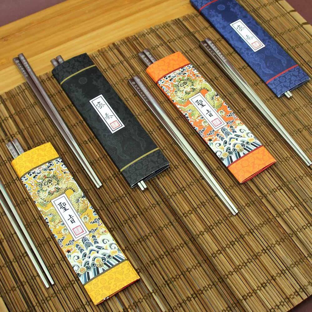 故宮精品 筷筷接旨 聖旨B 雙筷組