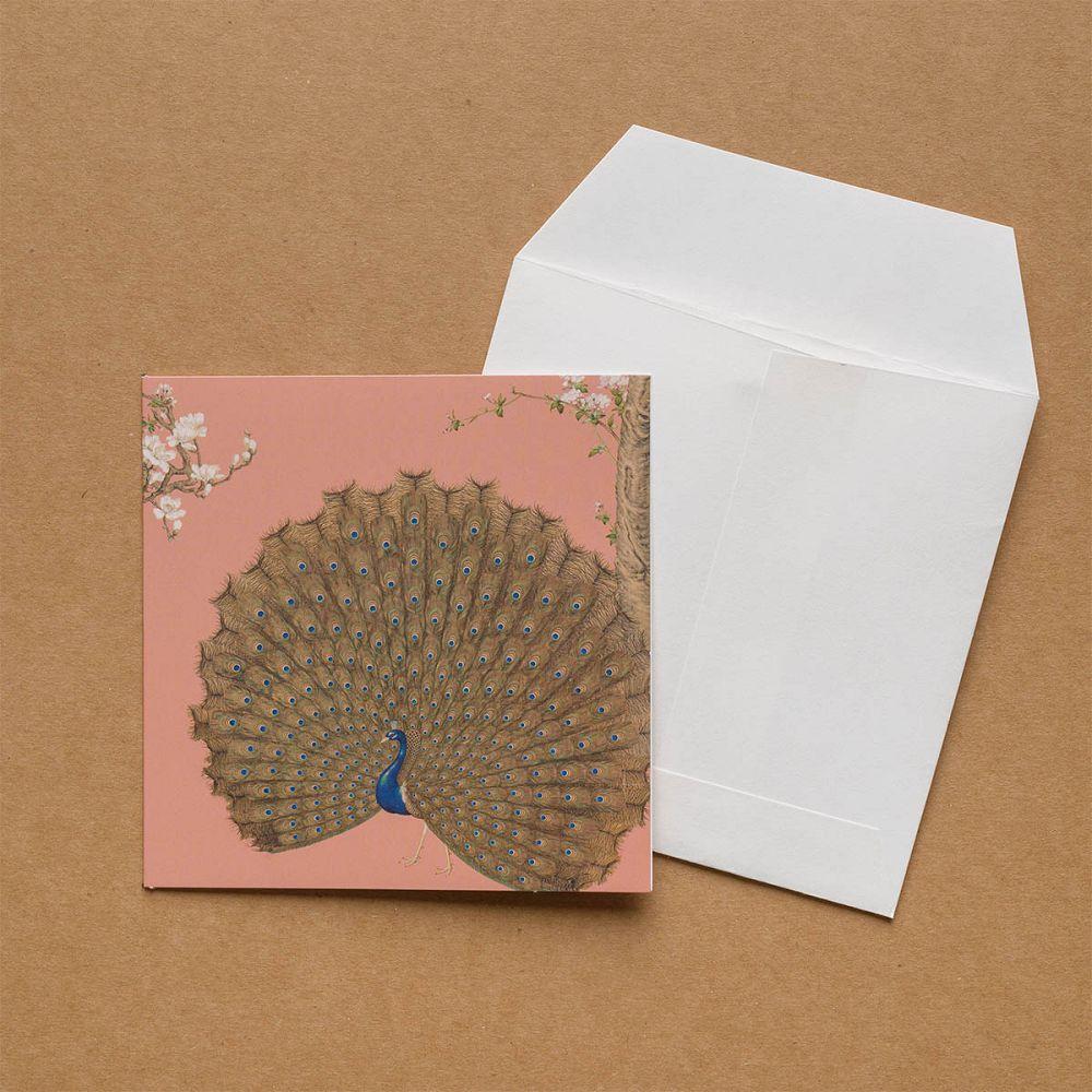 故宮精品 郎世寧系列·孔雀開屏 萬用卡