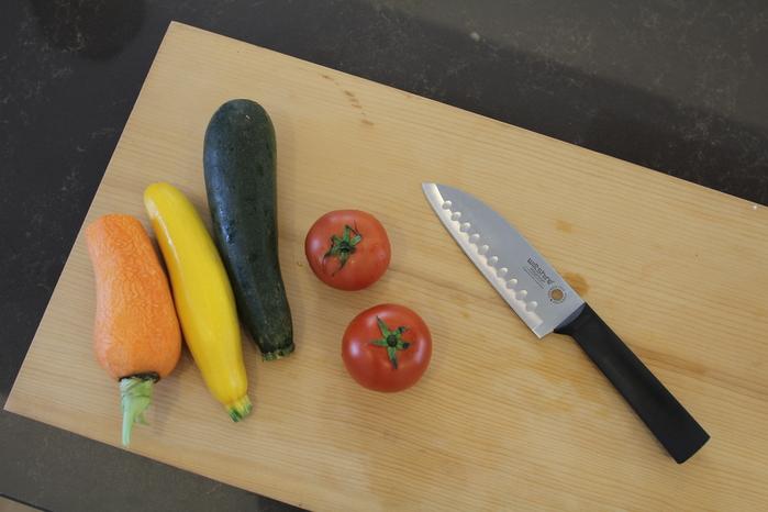 Wiltshire|澳洲STAYSHARP專利磨刀鞘+santoku三德刀組-15cm