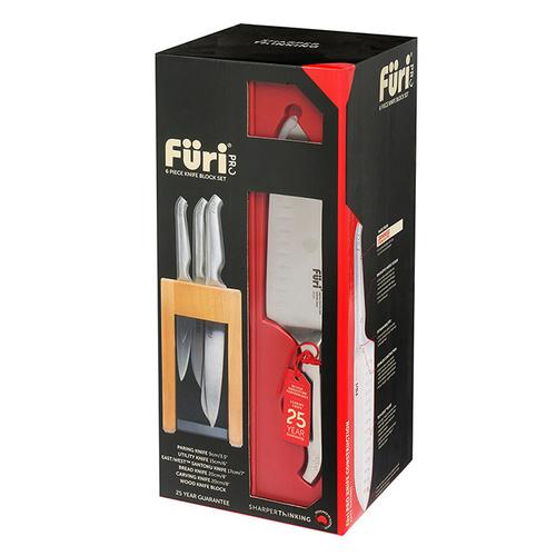 澳洲FüriPro|高級專業刀具組-6入