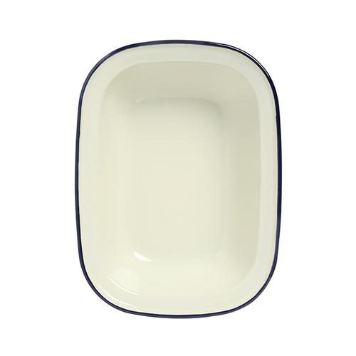 Wiltshire |澳洲ENAMEL琺瑯手工方形烤盤-1000ml-藍