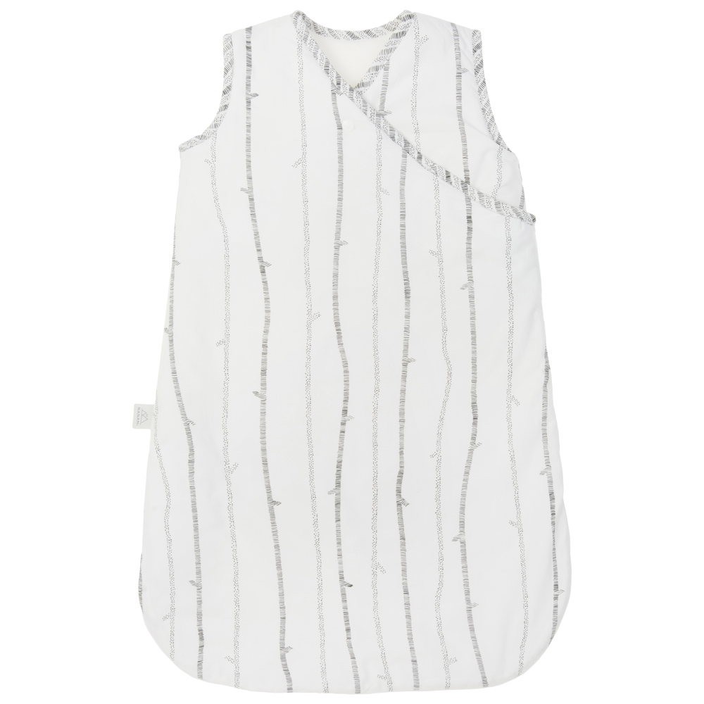 NANAMI | 完整包覆睡袋/睡袍 條紋白
