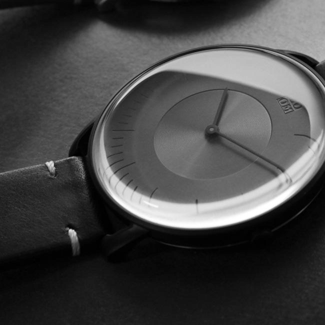 ZOOM SILO 極地光暈腕錶-黑/39mm