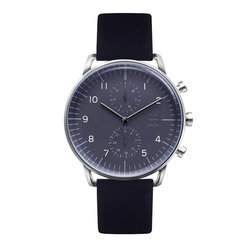 ZOOM │ Refine 旅行者多功能腕錶-暗礦藍