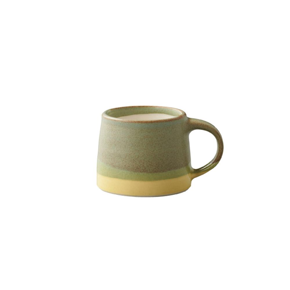 KINTO SCS漸層馬克杯110ml黃/綠色