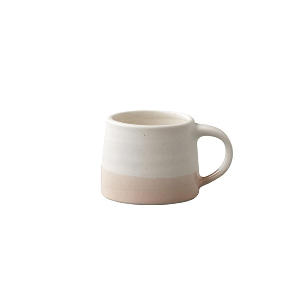 KINTO|SCS漸層馬克杯110ml白/粉色