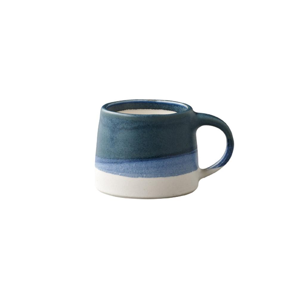 KINTO|SCS漸層馬克杯110ml白/藍色