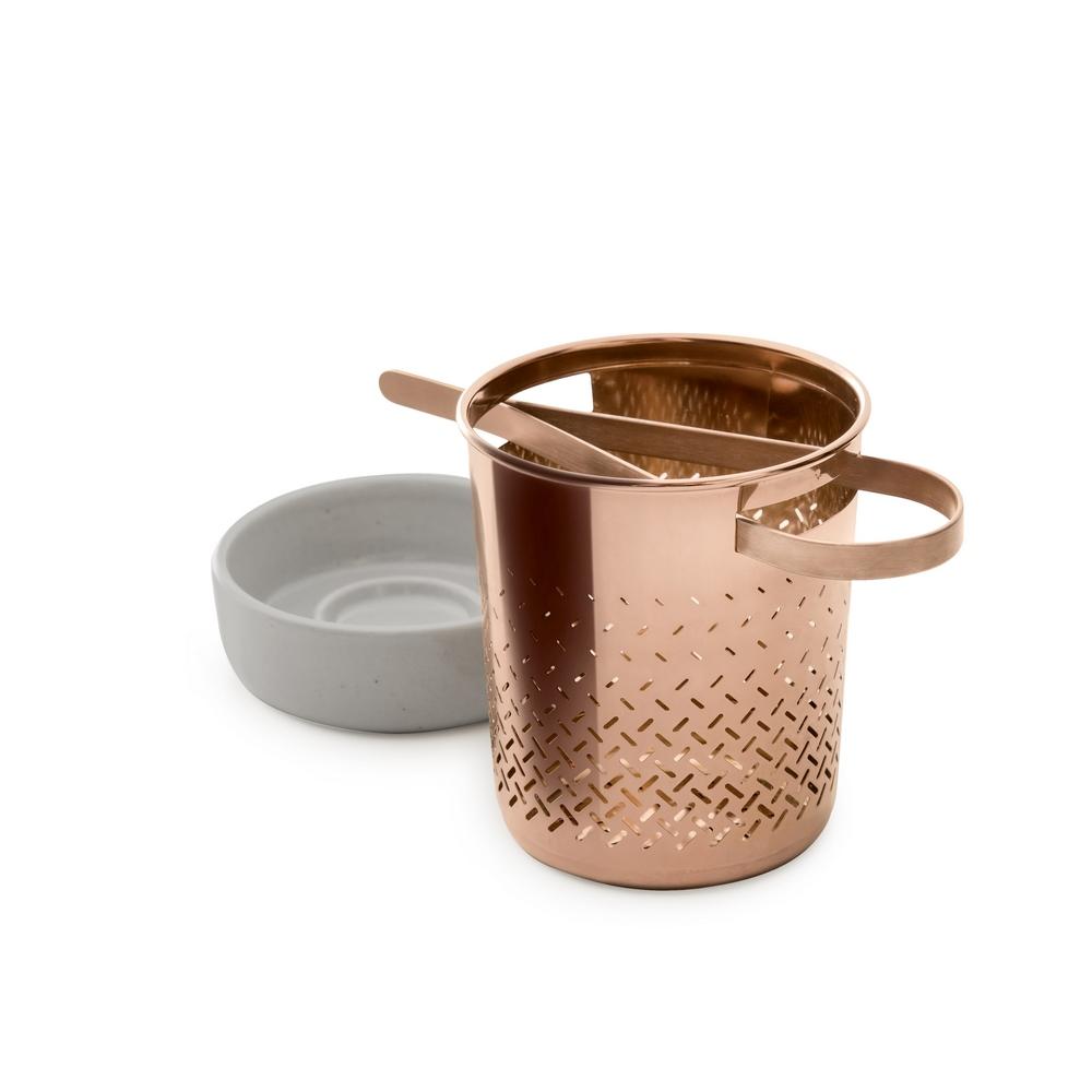 TOAST|WEAVER 東方茶沖茶器 - 紅銅