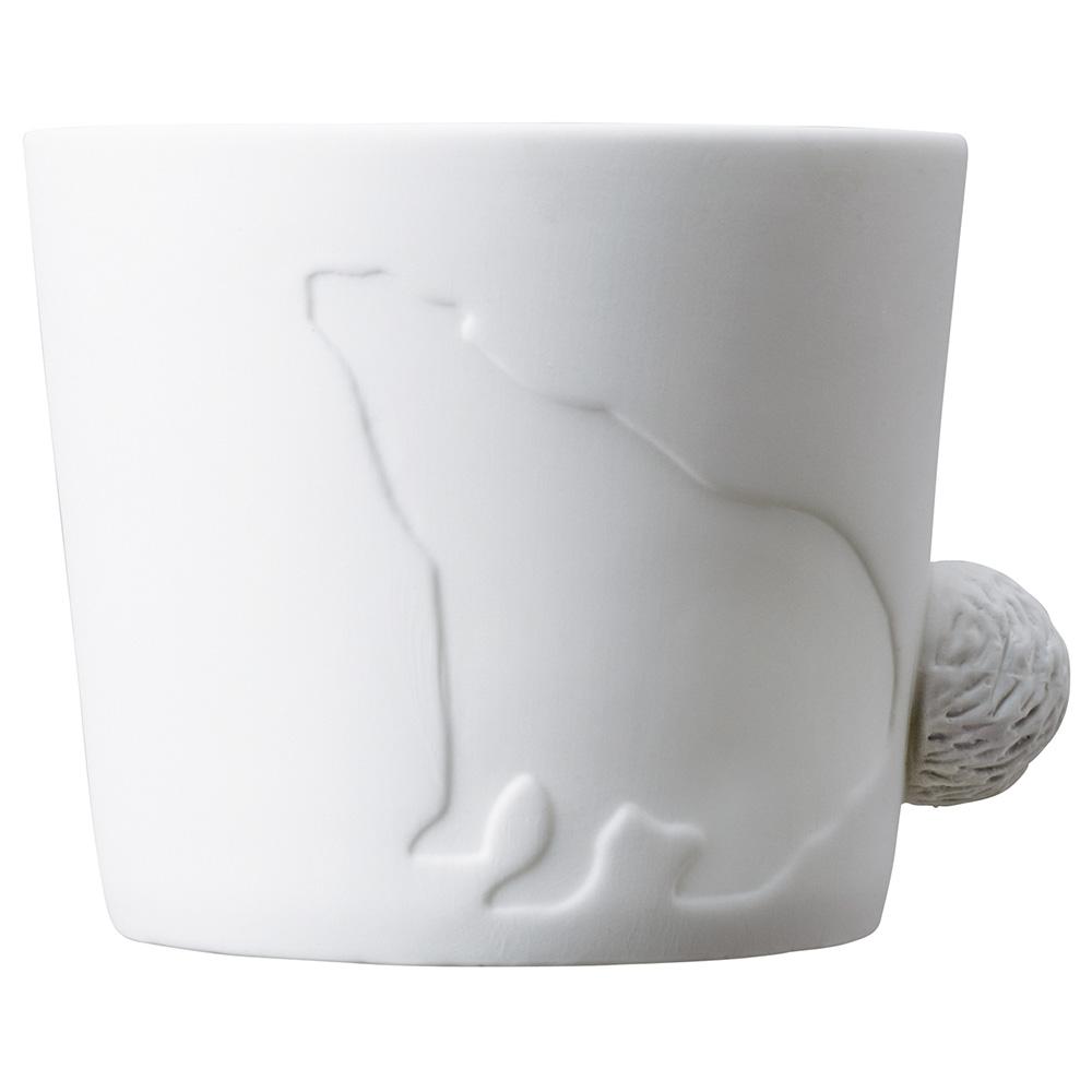 KINTO | Mugtail 童話動物杯 - 北極熊 - 460ml