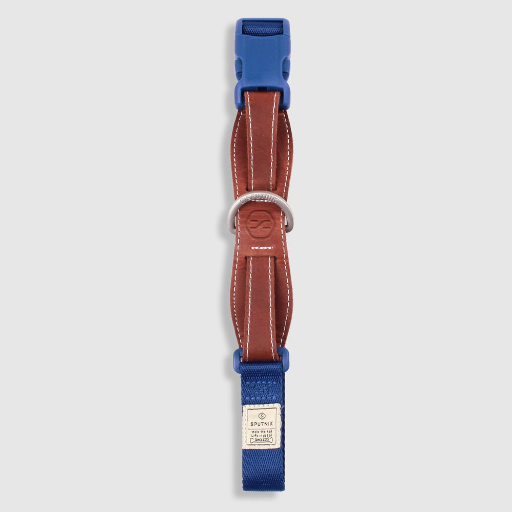 SPUTNIK 寵物胸項圈 Collar 藍 (L)