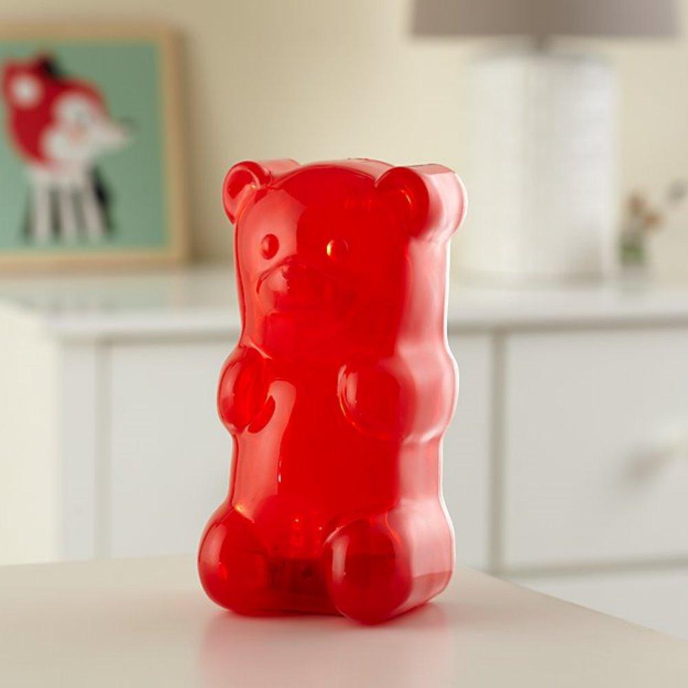 美國 Gummy Bear 軟糖熊燈 (石榴紅)