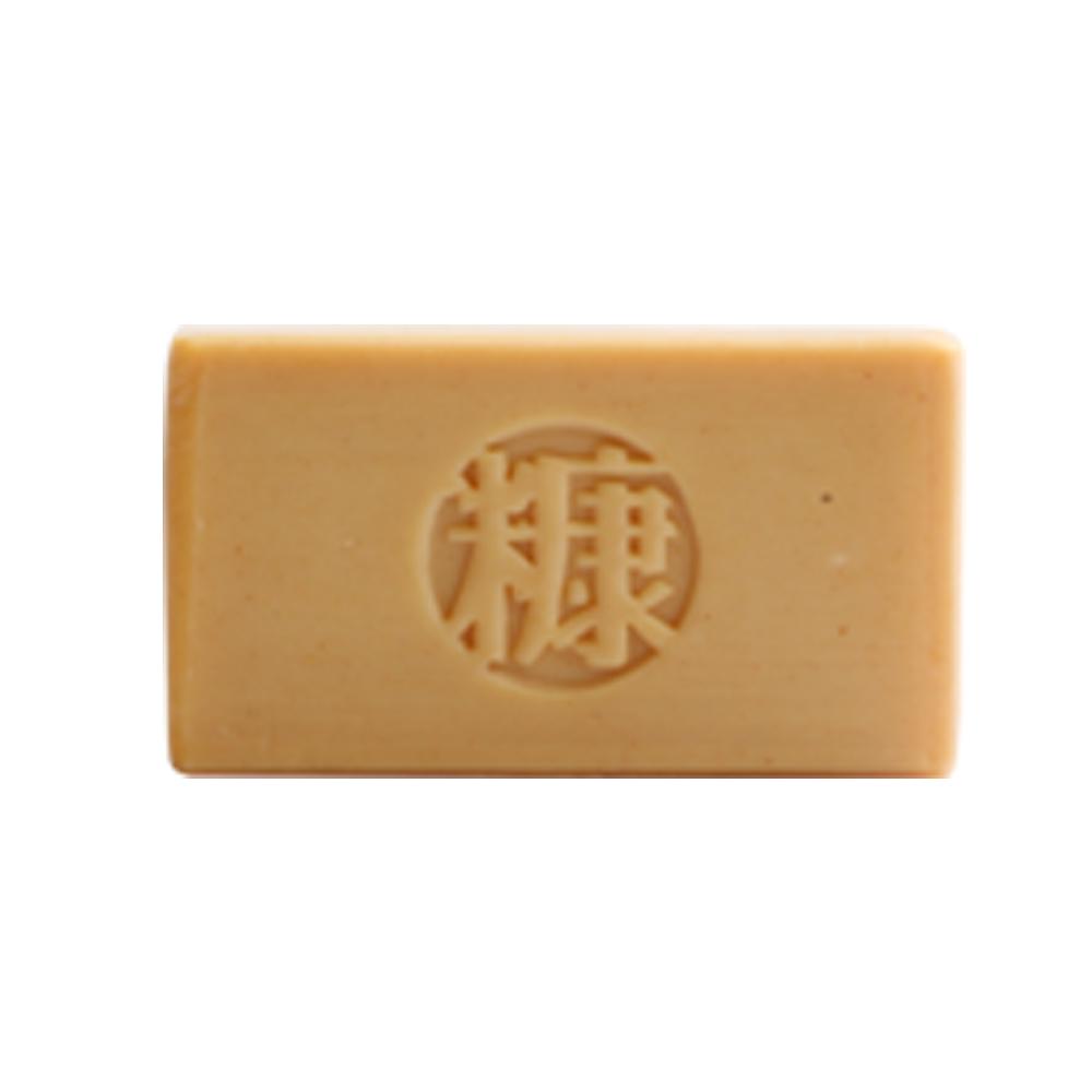 手工糠皂 NUDE系列 黃香木 Tanaka 玉米澱粉盒包裝  (棕色)