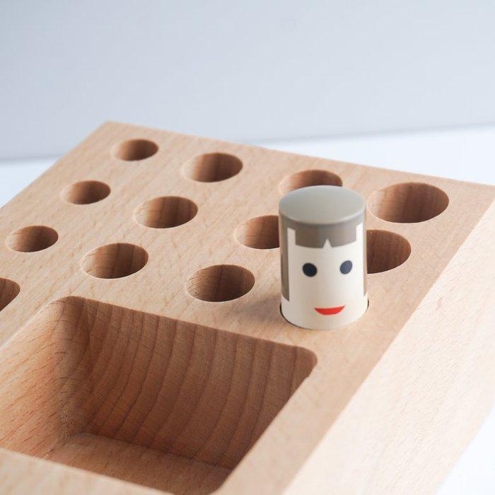 TOSMU 童心木 木製收納座 - 戳戳樂