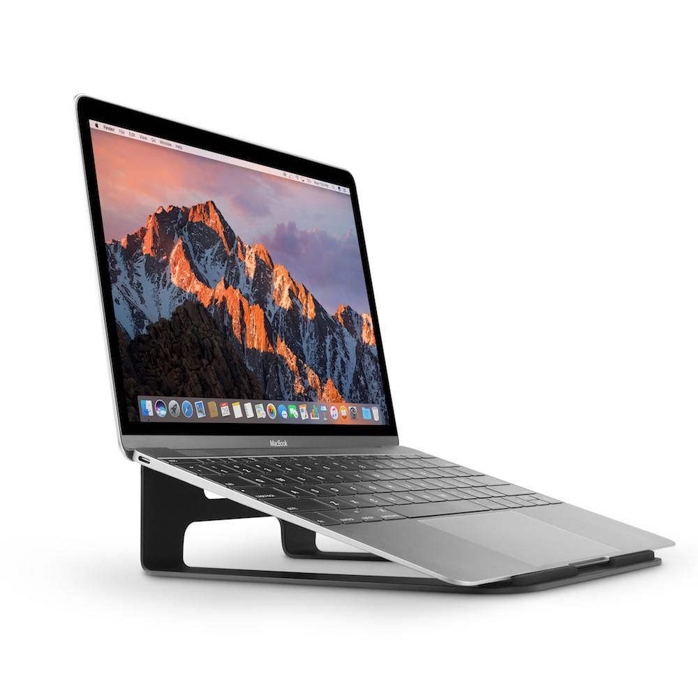 Twelve South|ParcSlope 簡約金屬立架 for MacBook / iPad Pro (霧黑)