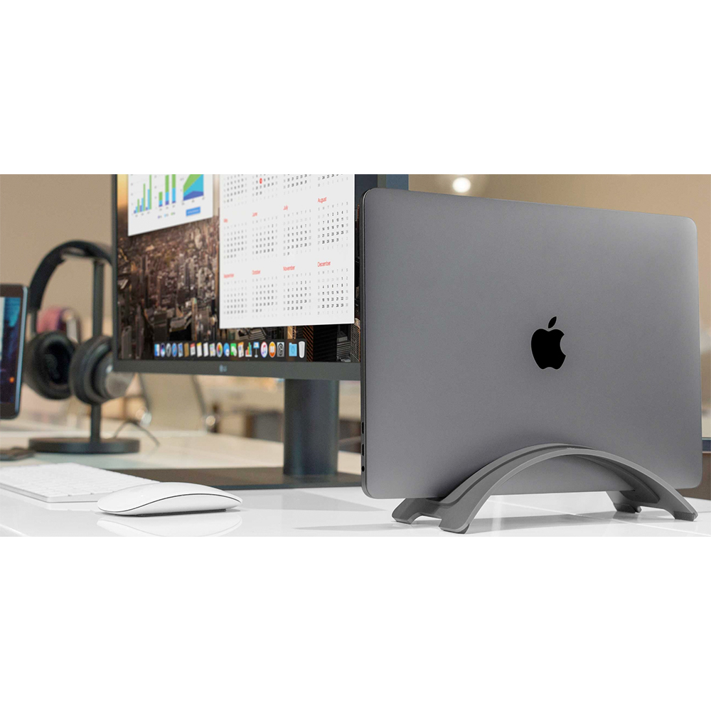 Twelve South|BookArc 直立式筆電座 for MacBook Air/Pro/Retina(太空灰)