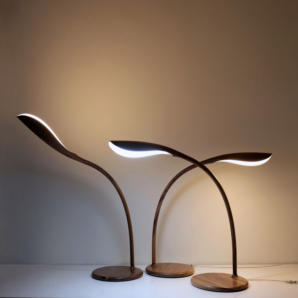 HORGAN|ECO-BUD Lamp(胡桃木)