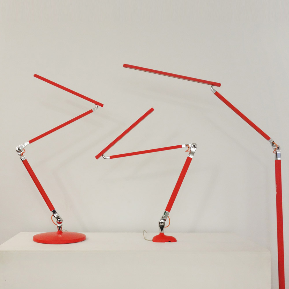 HORGAN|TANGO 夾燈 (紅) / TANGO Clamp Lamp (Red)