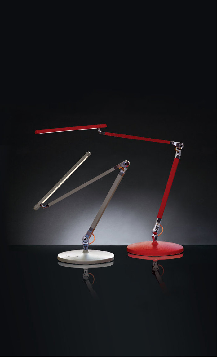 HORGAN|TANGO Table Lamp(白/黑/銀/紅)