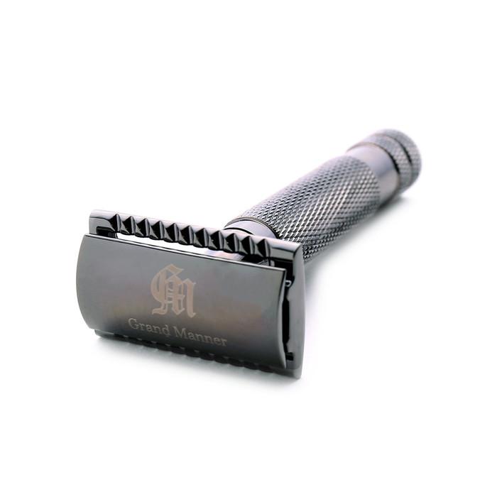 (複製)Grand Manner|特務系列雙刃安全刮鬍刀(銀)