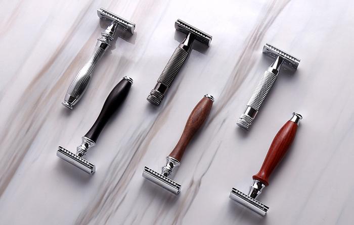 (複製)Grand Manner 特務系列雙刃安全刮鬍刀(槍灰)