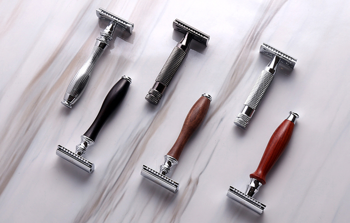(複製)Grand Manner|尊爵系列 雙刃安全刮鬍刀(胡桃木)