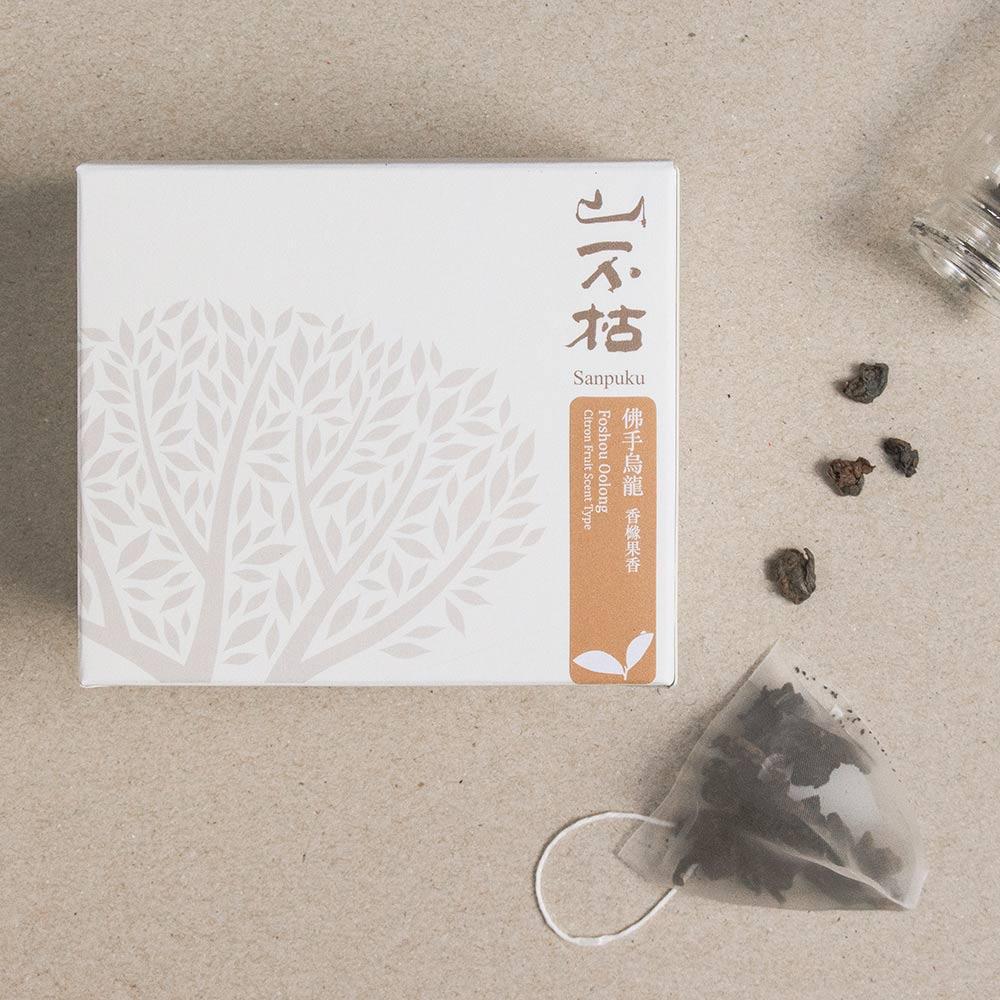 山不枯 簡單茶包-佛手烏龍-醇果(兩組)