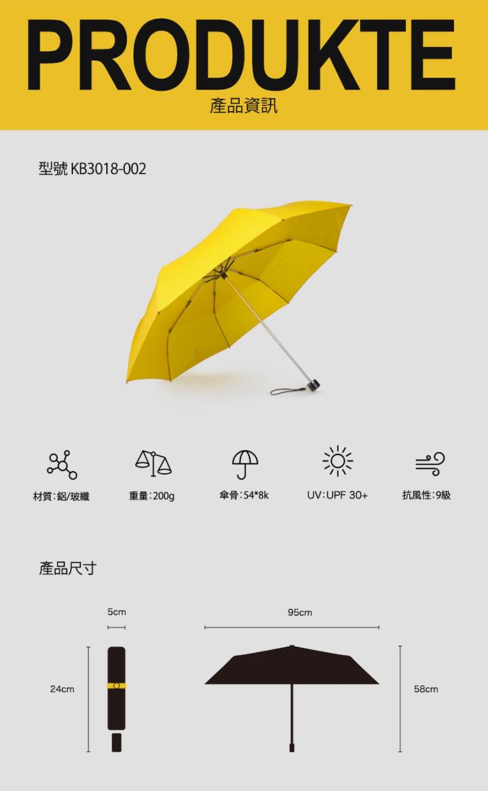 (複製)德國kobold|抗UV-Lotus素格紋-防潑水遮陽傘-三折傘-藍
