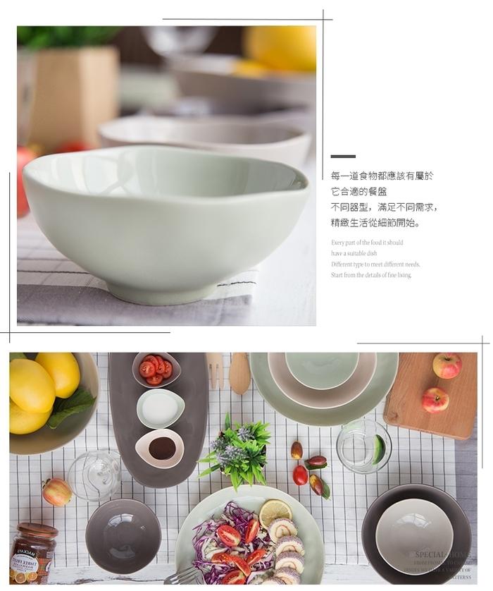 (複製)【JOYYE陶瓷餐具】自然初語長方盤