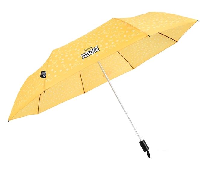 德國kobold|迪士尼官方授權-晴雨兩用傘-米妮蝴蝶結-黃