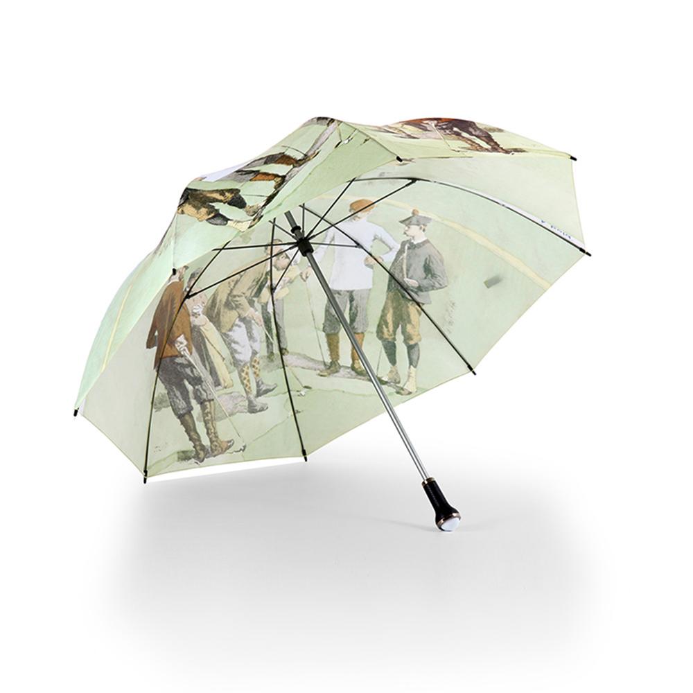 德國kobold|抗UV超大抗強風-高爾夫球傘-聖安德魯-名畫一