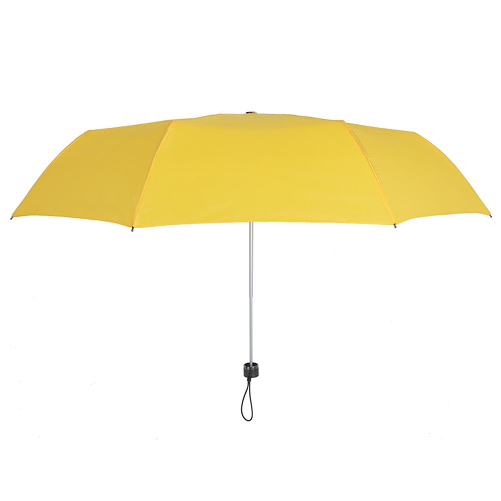 德國kobold|抗UV-Lotus素格紋-防潑水遮陽傘-三折傘-黃