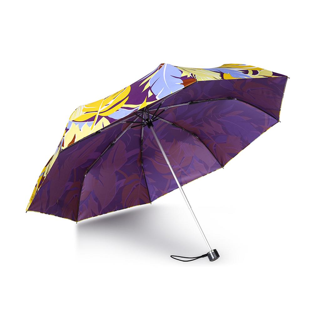 德國kobold|抗UV-Lotus超輕防潑水-紫膠遮陽傘-三折傘-田園
