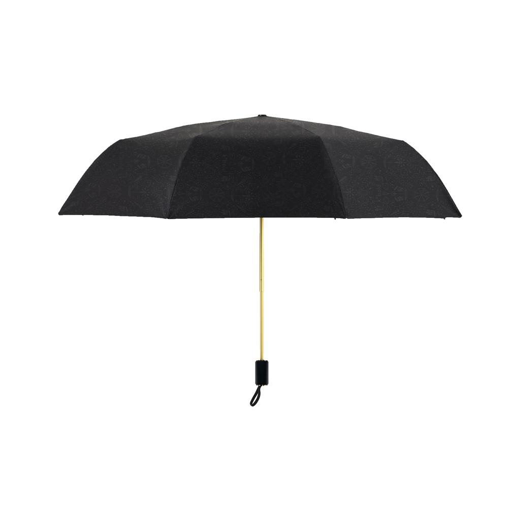德國kobold 抗UV降溫10-12度-隱形傘骨-萬花鏡遮陽防曬降溫傘 -雙層三折傘-富貴