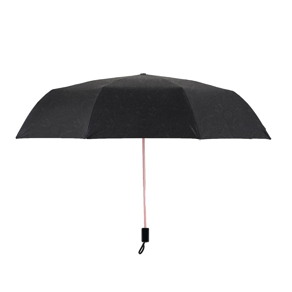 德國kobold|抗UV降溫10-12度-隱形傘骨-萬花鏡遮陽防曬降溫傘 -雙層三折傘-櫻花
