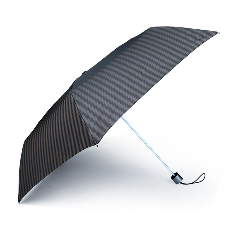 德國kobold|抗UV-經典條紋-超輕男士商務晴雨傘-三折傘-藍