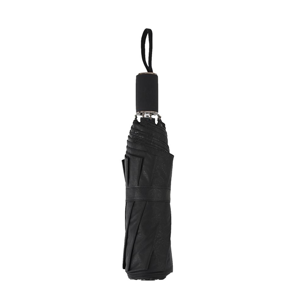 德國kobold|抗UV零透光智能防曬-油畫系列-遮陽防曬降溫傘 -雙層三折傘-巴黎