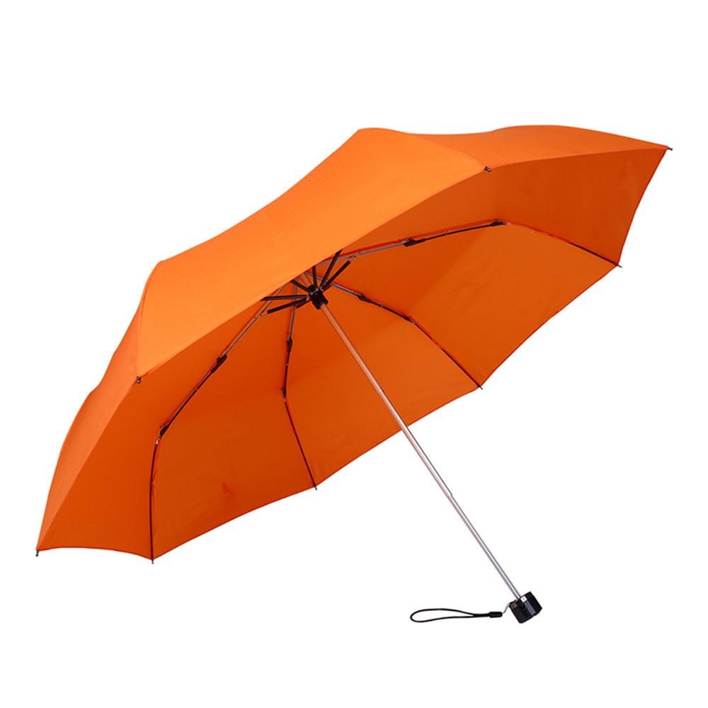 德國kobold|抗UV-Lotus素格紋-防潑水遮陽傘-三折傘-橘