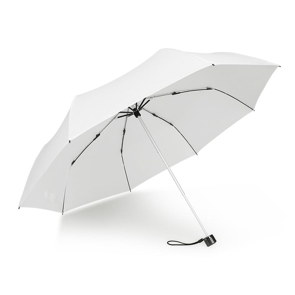 德國kobold|抗UV-Lotus素格紋-防潑水遮陽傘-三折傘-白