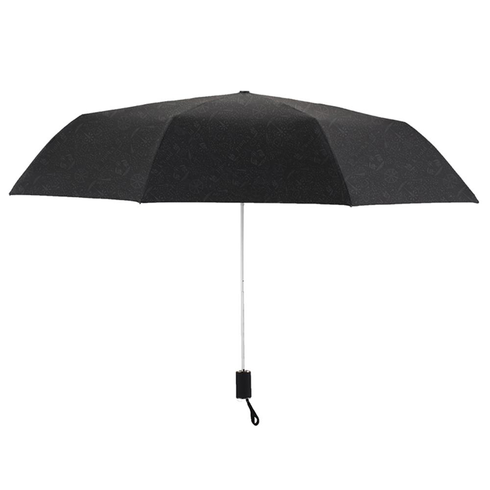 德國kobold|抗UV零透光智能防曬-青花瓷系列-雙層遮陽防曬降溫傘-三折傘-蝶戀花