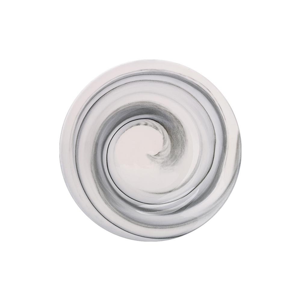 JOYYE陶瓷餐具|畫意圓盤-灰色