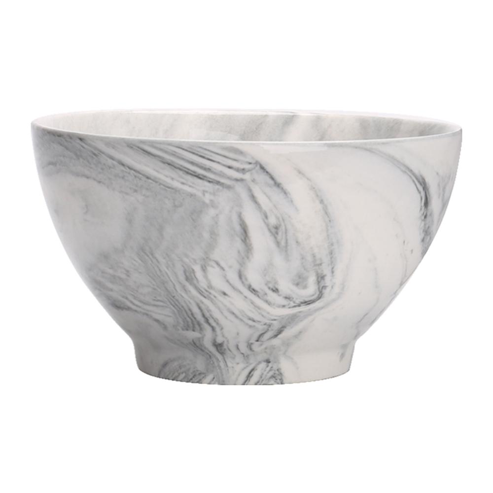 JOYYE陶瓷餐具 畫意碗-灰色(一套2件)