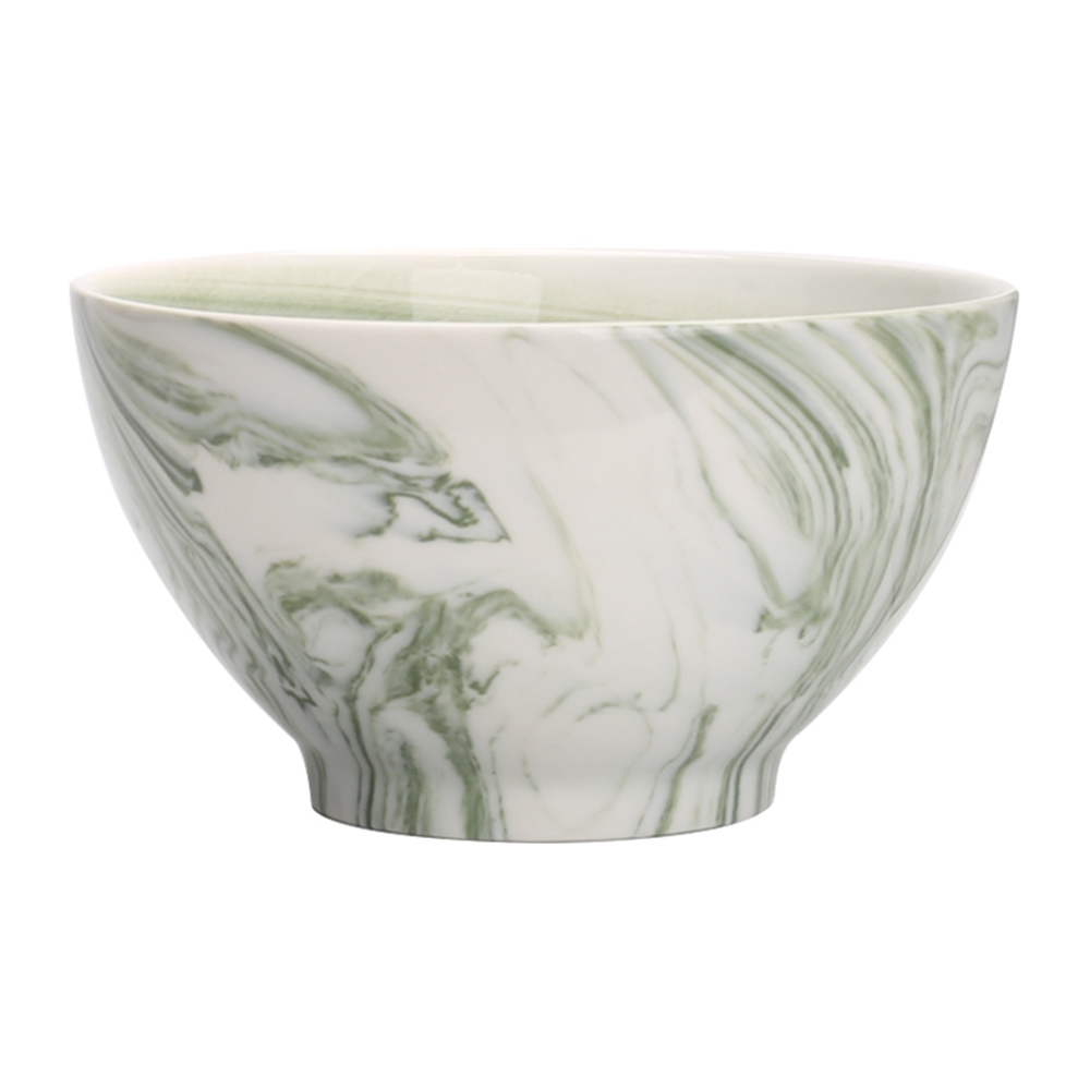 JOYYE陶瓷餐具|畫意碗-綠色(一套2件)