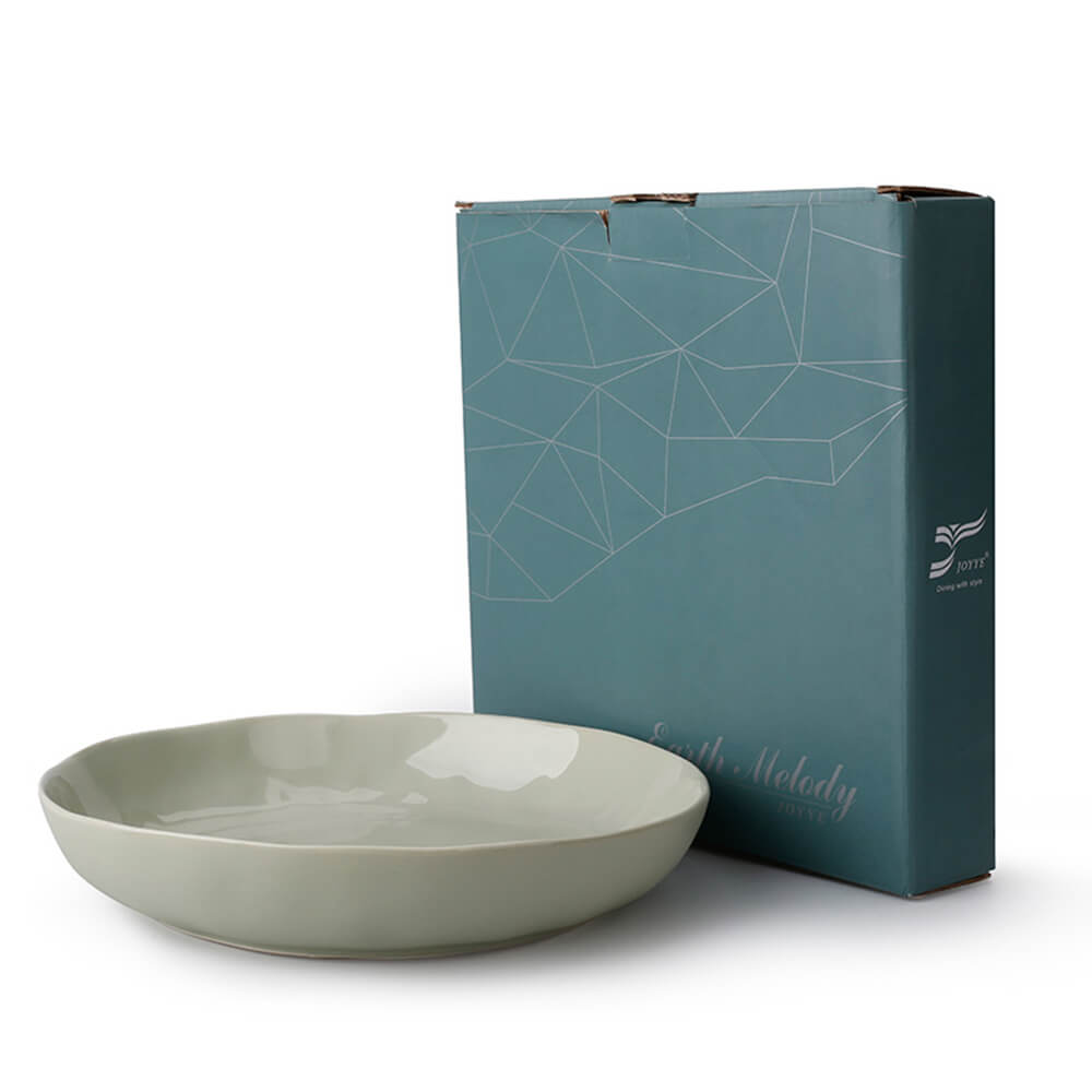 JOYYE陶瓷餐具|自然初語異形深盤